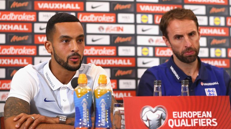 Gareth Southgate does not expect Theo Walcott to be happy about his England ommission