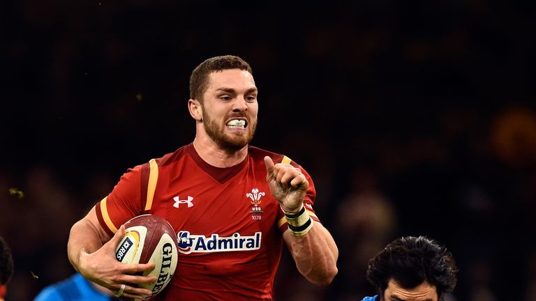 George North is one of six Premiership-based players called-up by Wales
