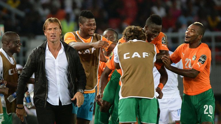 Ex-Ivory Coast boss Herve Renard will face his old team