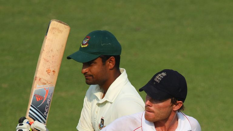 Ian Bell hit a crucial 138 for England in the second Test against Bangladesh in 2010