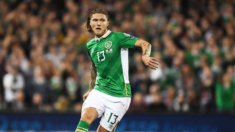 Jeff Hendrick is out of the Republic of Ireland's squad to play  Georgia and Serbia