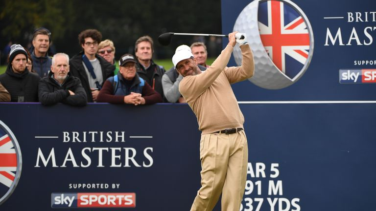 Olazabal missed the cut in his first competitive appearance since the 2015 Masters
