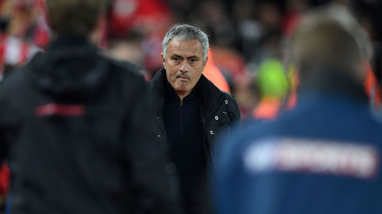 Jose Mourinho returns to Stamford Bridge with Manchester United on Sunday