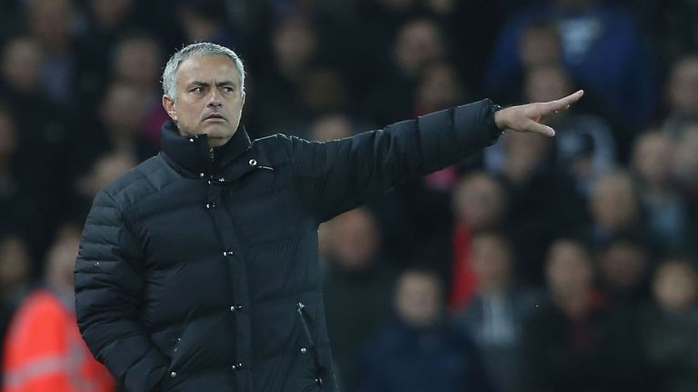 Jose Mourinho was pleased with Man Utd's defensive discipline
