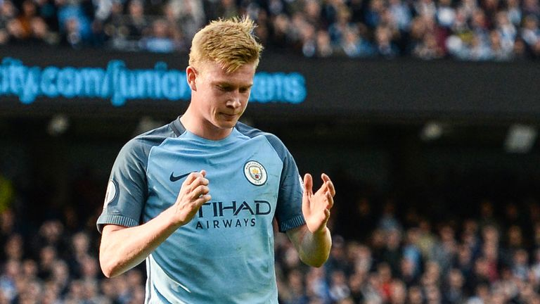 Kevin De Bruyne Returns To Manchester City After Suffering