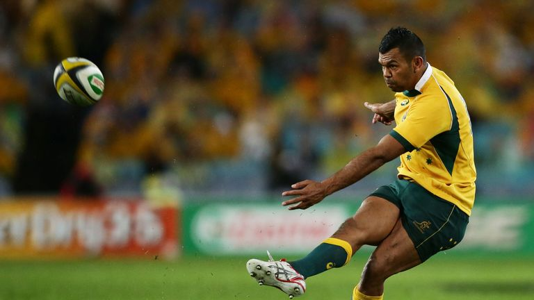 A Kurtley Beale penalty ended the All Blacks' last attempt at the record