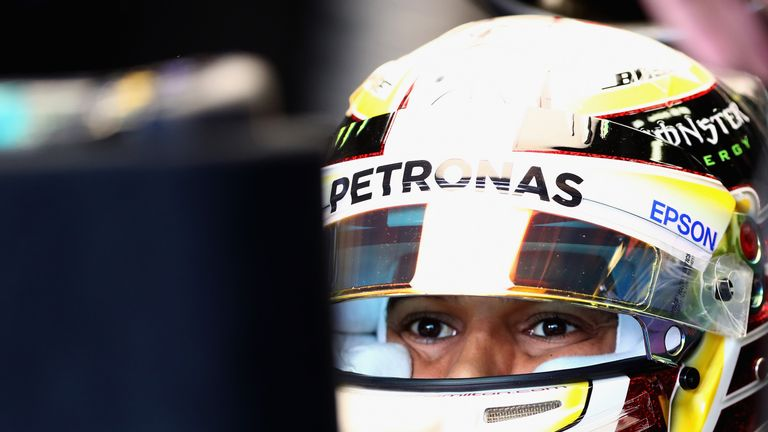 Formula One star Hamilton snaps pic, takes all questions