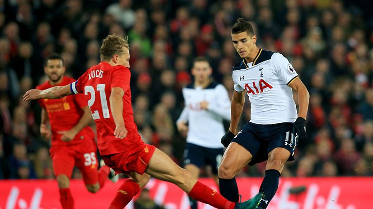 Lamela's last appearances was in the EFL Cup defeat to Liverpool