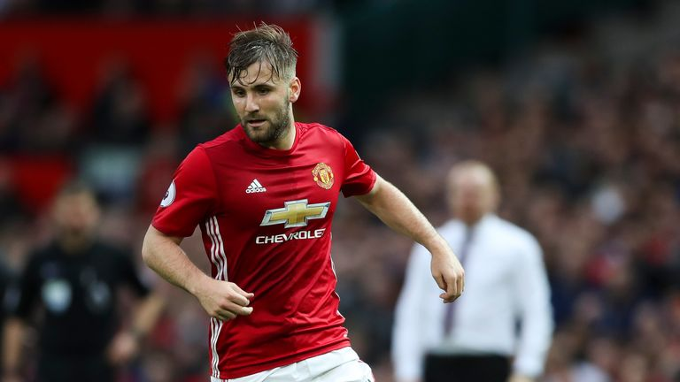 Jose Mourinho still has high hopes for Luke Shaw