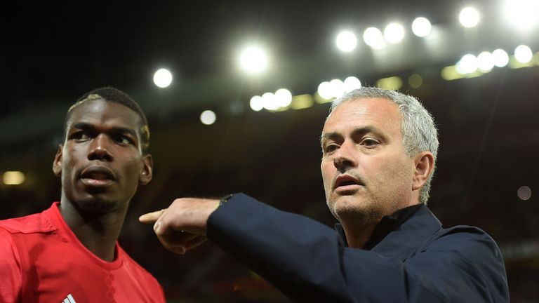 Manchester United boss Mourinho says Pogba can become a goalscorer for the club
