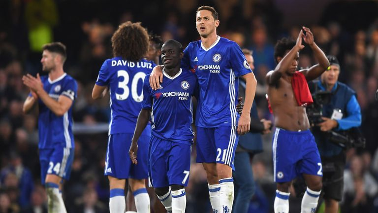 N'Golo Kante has shone alongside Nemanja Matic in Chelsea's midfield
