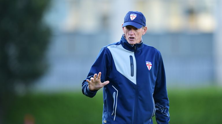 Wayne Bennett was taking charge of his first England game
