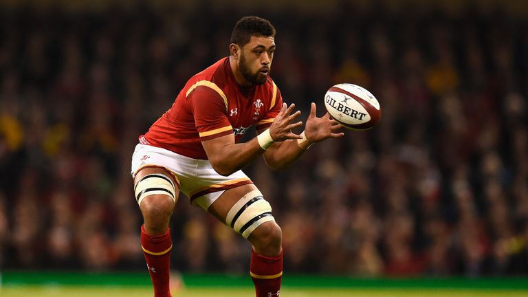 Taulupe Faletau has been included in the Wales squad