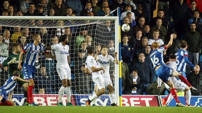 Shaun MacDonald netted a late equaliser at Elland Road