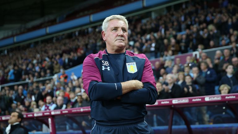 Steve Bruce replaced Roberto Di Matteo as Aston Villa manager in October last year