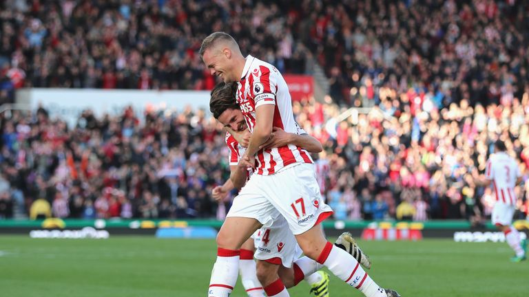 Joe Allen scored both goals as Stoke saw off Sunderland at the Bet365 Stadium