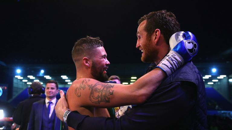 Bellew defended his gym-mate on social media