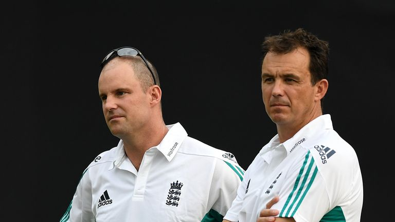 Tom Harrison (right) believes English cricket can become self-reliant