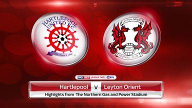 Hartlepool 1-3 Leyton Orient