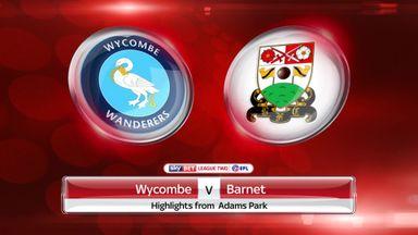 Wycombe 0-2 Barnet