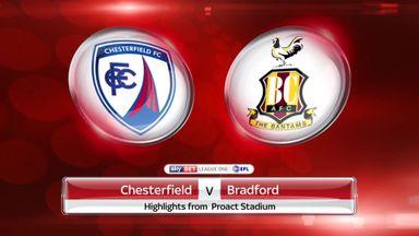 Chesterfield 0-1 Bradford