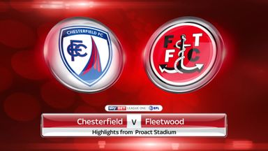 Chesterfield 0-1 Fleetwood