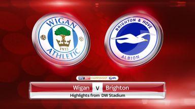 Wigan 0-1 Brighton