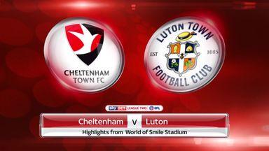 Cheltenham 1-1 Luton