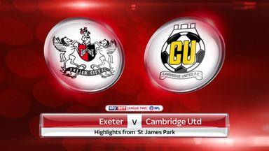 Exeter 1-2 Cambridge