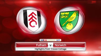 Fulham 2-2 Norwich