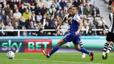 Ayoze Perez scores for Newcastle