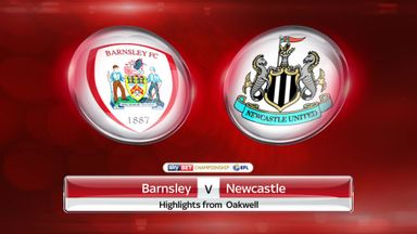 Barnsley 0-2 Newcastle