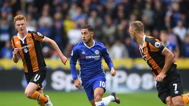 Eden Hazard says he doubts Chelsea would change their tactics just for him