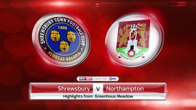 Shrewsbury 2-4 Northampton