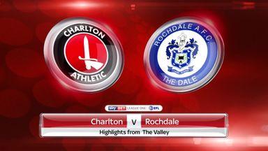 Charlton 0-1 Rochdale