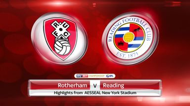 Rotherham 0-1 Reading