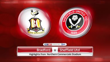 Bradford 3-3 Sheffield United