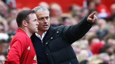 Jose Mourinho has not been afraid to leave Wayne Rooney on the bench this season