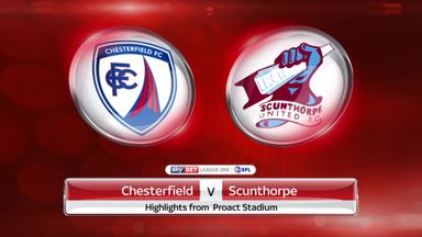 Chesterfield 0-3 Scunthorpe