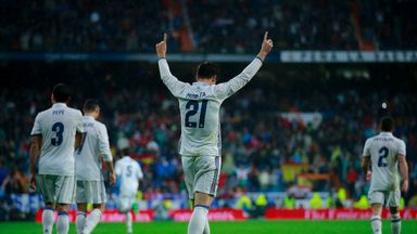 Real Madrid striker Alvaro Morata's late winner against Athletic Bilbao sent his side to the top of La Liga