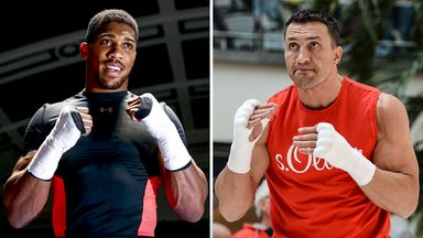 Anthony Joshua will be watched closely by Wladimir Klitschko this Saturday