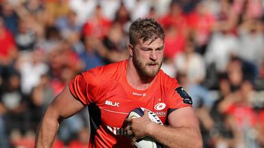 George Kruis is not expected back for Saracens until April 16