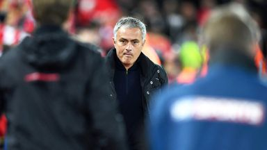 Jose Mourinho commented on Anthony Taylor's appointment ahead of Manchester Untied's trip to Liverpool