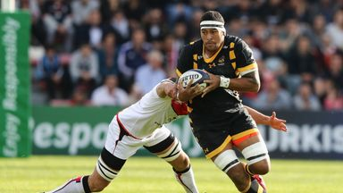 Wasps No 8 Nathan Hughes returns to club duty after making his England debut last month