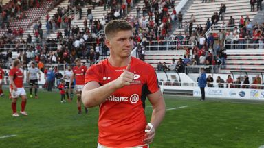 Owen Farrell and Saracens host Glasgow at Allianz Park on April 2