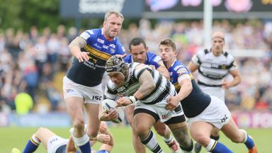 Iafeta Palea'aesina will play for Doncaster next year but has taken on a role with Hull FC