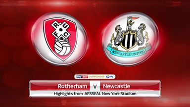 Rotherham 0-1 Newcastle