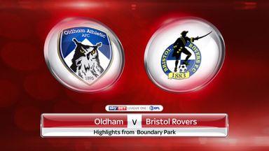 Oldham 0-2 Bristol Rovers