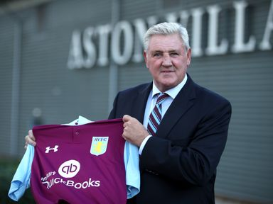 Steve Bruce: Aston Villa manager faces his former club Birmingham