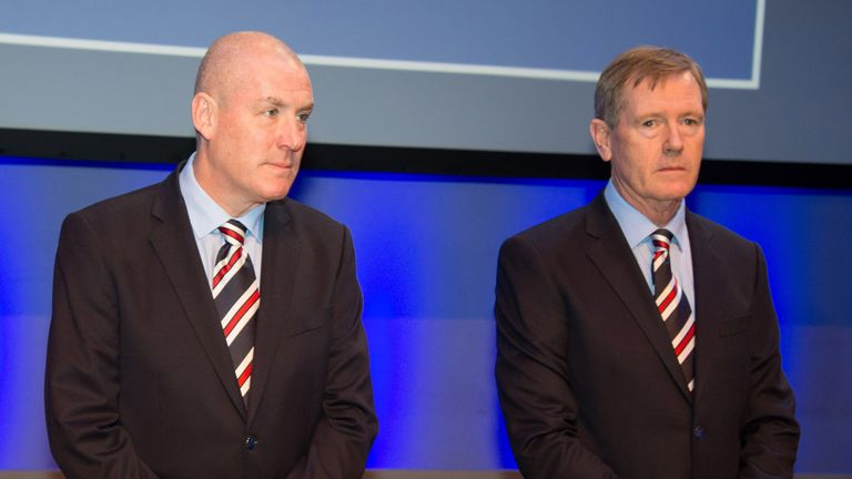 King (right) permitted 11 summer signings by Mark Warburton but spent less than £2,5m on them